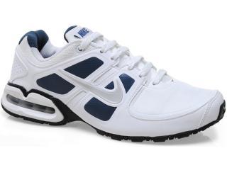 Tênis Masculino Nike 512765-103 Air Max Lte ii sl Emb Branco/marinho - Tamanho Médio