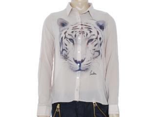 Camisa Feminina Index 07.01.000061 Bege - Tamanho Médio