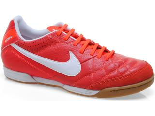 Tênis Masculino Nike 509090-619 Tiempo Natural iv Ltr ic Vermelho/branco - Tamanho Médio