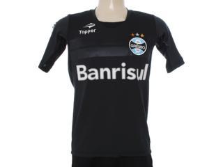 Camisa Masculina Grêmio C1080m Preto - Tamanho Médio