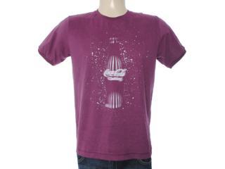 Camiseta Masculina Coca-cola Clothing 353203314 Beringela - Tamanho Médio