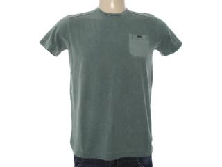 Camiseta Masculina Dopping 015263020 Verde Musgo - Tamanho Médio