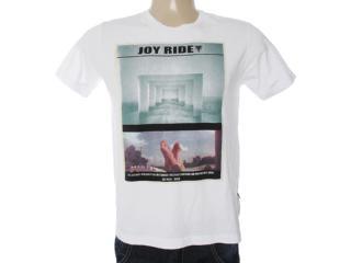Camiseta Masculina Cavalera Clothing 01.01.7025 Branco - Tamanho Médio