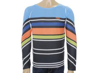 Camiseta Masculina Coca-cola Clothing 353203398 Azul/laranja/verde/musgo - Tamanho Médio