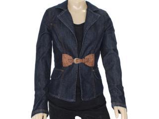 Paleto Feminino Dopping 014113009 Jeans - Tamanho Médio