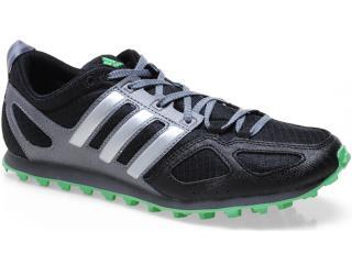 Tênis Masculino Adidas Q22228 xc tr m Preto/prata/verde - Tamanho Médio