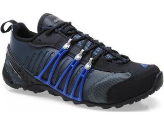 Tênis Masculino Adidas Q21258 Hellbender Ats Preto/cinza/azul - Tamanho Médio