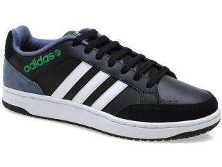 Tênis Masculino Adidas X73823 Vlneo Hoops l Preto/branco - Tamanho Médio