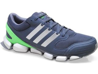 Tênis Masculino Adidas Q22622 Dynamic Fusio Chumbo/verde - Tamanho Médio