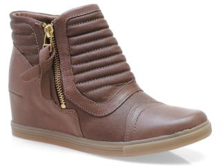 Sneaker Feminino Ramarim 13-70103 Castor - Tamanho Médio