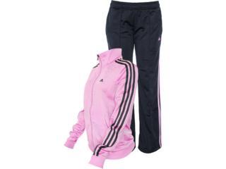 Abrigo Feminino Adidas Z48421 Diana Suit Lilas/preto - Tamanho Médio