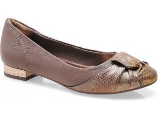 Sapato Feminino Ramarim 13-87101 Amendoa/rose - Tamanho Médio