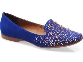 Sapato Feminino Bottero 183601 Azul Klein - Tamanho Médio