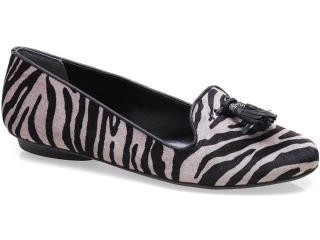 Sapato Feminino Cravo e Canela 91102/15989 Zebra - Tamanho Médio