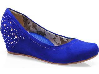 Sapato Feminino Campesi 3371 Azul - Tamanho Médio