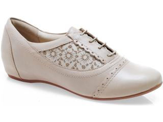 Sapato Feminino Campesi 3362 Avelã - Tamanho Médio
