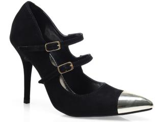 Sapato Feminino Via Marte 13-5906 Preto - Tamanho Médio