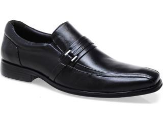 Sapato Masculino Democrata 45004 Star Light ii Preto - Tamanho Médio
