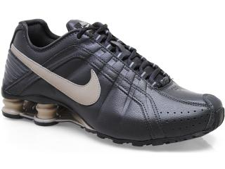 Tênis Masculino Nike 454340-003 Shox Junior Chumbo/bege - Tamanho Médio