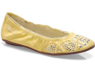 Sapatilha Feminina Ballasox 2241051 Amarelo - Tamanho Médio