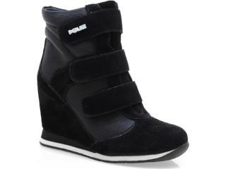 Sneaker Feminino Quiz 61904 Preto - Tamanho Médio