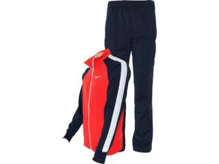 Abrigo Masculino Nike 449939-605 Polywarp Warm up Vermelho/marinho/branco - Tamanho Médio
