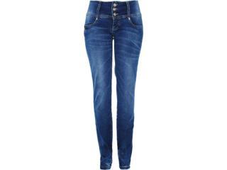 Calça Feminina Dopping 012313081 Jeans - Tamanho Médio