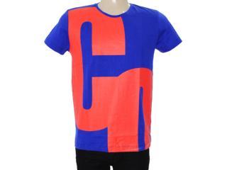 Camiseta Masculina Coca-cola Clothing 353203528 Royal/vermelho - Tamanho Médio