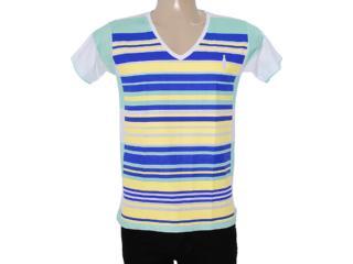 Camiseta Masculina Coca-cola Clothing 353203493 Listrado - Tamanho Médio