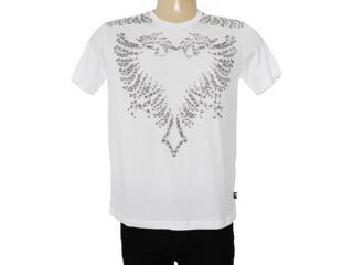 Camiseta Masculina Cavalera Clothing 01.01.7156 Branco - Tamanho Médio