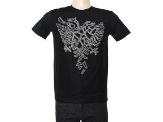 Camiseta Masculina Cavalera Clothing 01.01.7193 Preto - Tamanho Médio