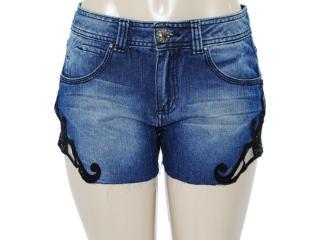 Short Feminino Dopping 013513007 Jeans - Tamanho Médio