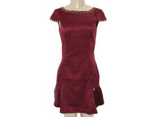 Vestido Feminino Dopping 018003037 Bordo - Tamanho Médio