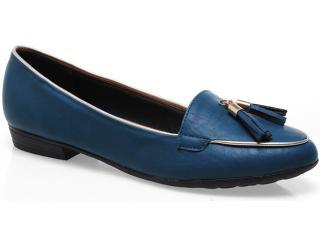 Sapato Feminino Piccadilly 236.008 Petróleo - Tamanho Médio