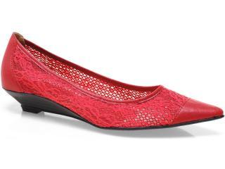 Sapato Feminino Bruna Brenner 1900 Vermelho - Tamanho Médio