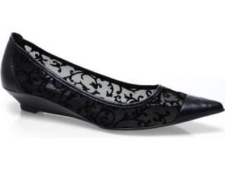 Sapato Feminino Bruna Brenner 1900 Preto - Tamanho Médio