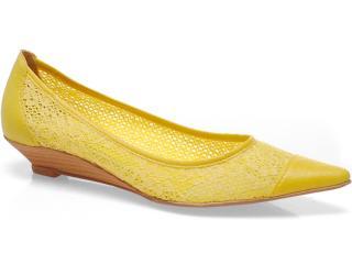 Sapato Feminino Bruna Brenner 1900 Amarelo - Tamanho Médio