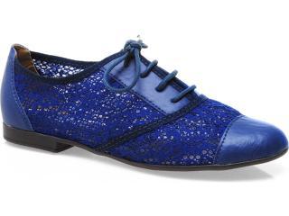 Sapato Feminino Bruna Brenner 3001 Azul - Tamanho Médio
