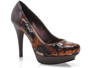 Sapato Feminino Tanara 4301 Café - Tamanho Médio