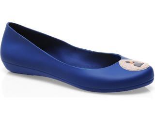 Sapatilha Feminina Grendene Zaxy 16500 Azul/verde - Tamanho Médio