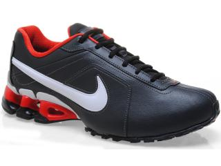Tênis Masculino Nike 512768-007 Impax Emirro ii sl Preto/branco/vermelho - Tamanho Médio