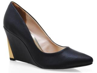 Sapato Feminino Via Marte 13-4101 Preto - Tamanho Médio