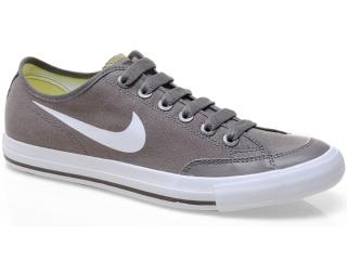 Tênis Masculino Nike 474141-202 go Low Cnvs br Cinza/branco - Tamanho Médio