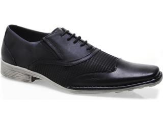 Sapato Masculino Ferracini 5303 Cervo Preto - Tamanho Médio