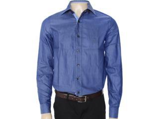 Camisa Masculina Individual 302.00979.002 Azul - Tamanho Médio