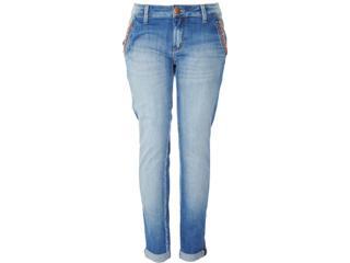 Calça Feminina Lado Avesso 82371 Jeans - Tamanho Médio