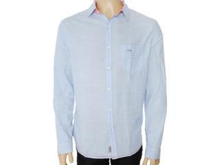 Camisa Masculina Index 07.01.000046 Azul Bebê - Tamanho Médio