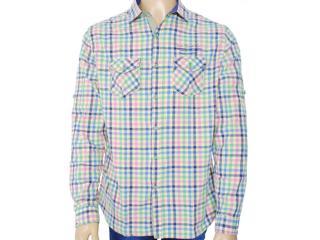 Camisa Masculina Index 07.01.000045 Xadrez - Tamanho Médio