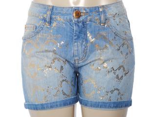 Short Feminino Lado Avesso 78259 Jeans - Tamanho Médio