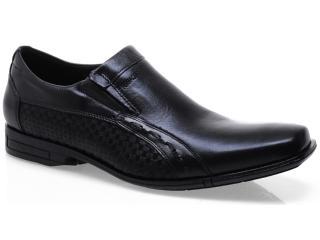 Sapato Masculino Ferracini 4112 Capri Preto - Tamanho Médio